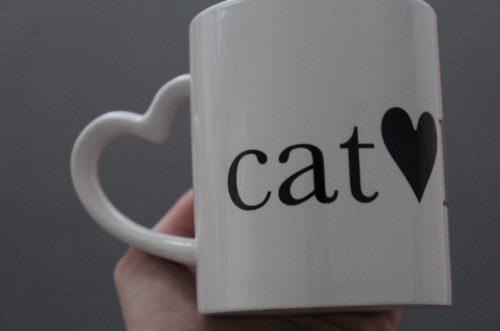 Catlover Tasse Katzenliebe