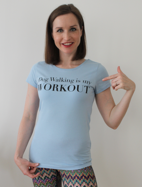 Dog Walking is my Workout Damen TShirt