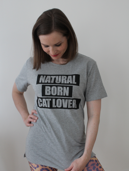 Natural Born Catlover TShirt unisex