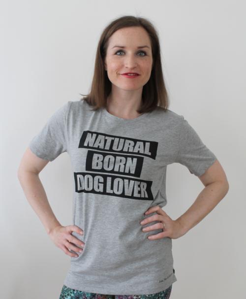 Natural Born Doglover TShirt unisex